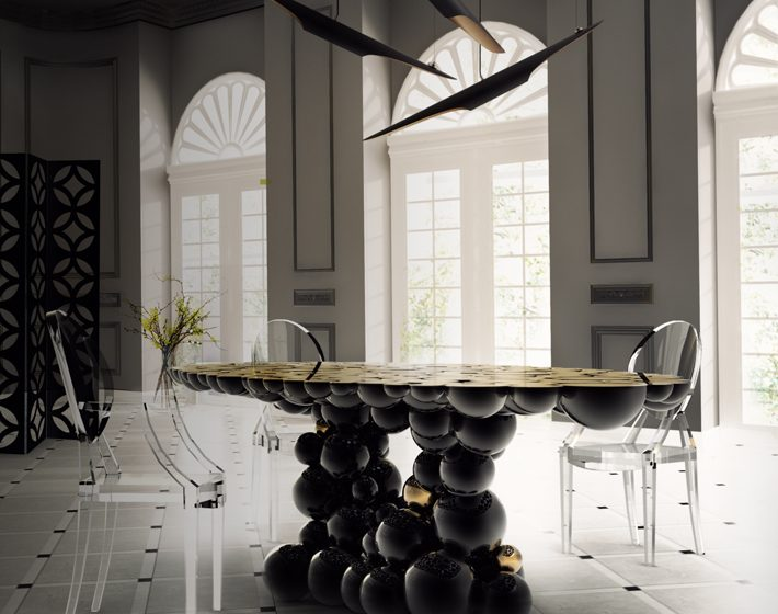 """""""contemporary dining table"""""""