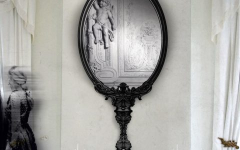 """contemporary mirror"" Marie Antoinette Marie Antoinette contemporary mirror 480x300"