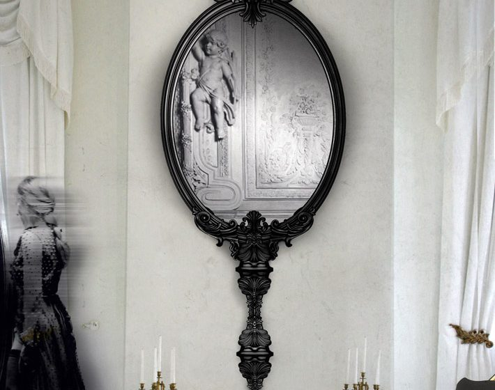 """contemporary mirror"" Marie Antoinette Marie Antoinette contemporary mirror 710x560   contemporary mirror 710x560"