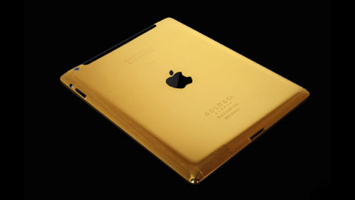 """Burj Al Arab offers 24-carat Gold iPad to guests"""
