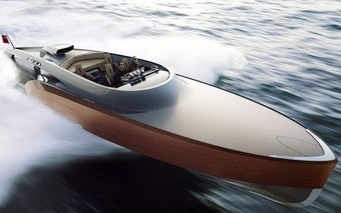 """aeroboat spitfire - claydon reeves"""