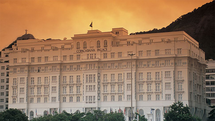 """""""luxury experiences brazil"""" A Palace at Copacabana A Palace at Copacabana luxury experiences brazil"""