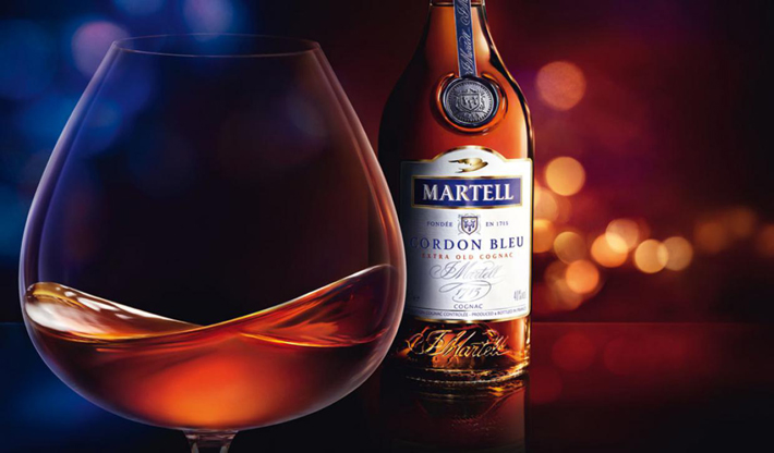 """Martell has launched a Cordon Bleu Centenary Limited Edition cognac, to celebrate the 100th anniversary of the spirit created by Edouard Martell."" Martell Martell Cordon Bleu Centenary Limited Edition Cognac 113"