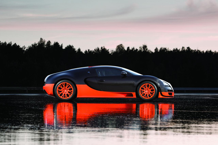 """The Bugatti Veyron is available for rent for £ 16,500 (approximately $26,000 USD) for a day."""