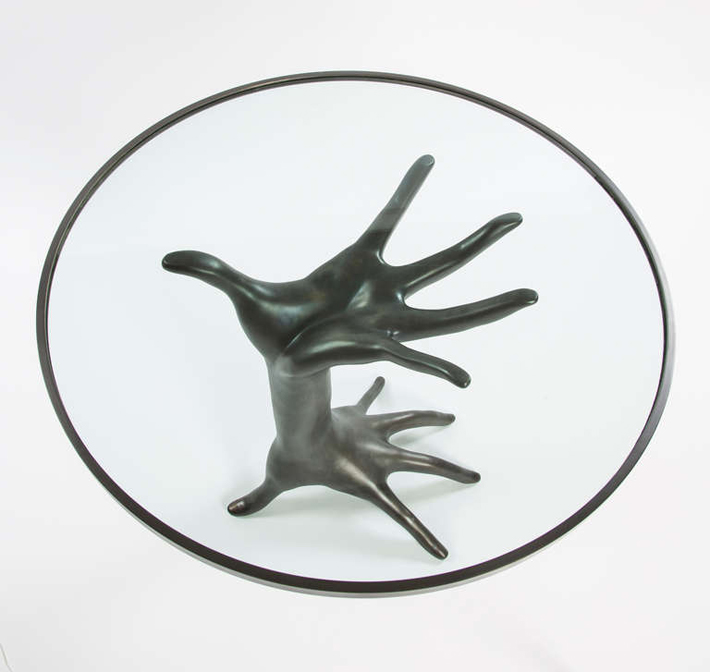 """A stunning and unique occasional table inspired Kelly's continuing interest in figurative decor."""