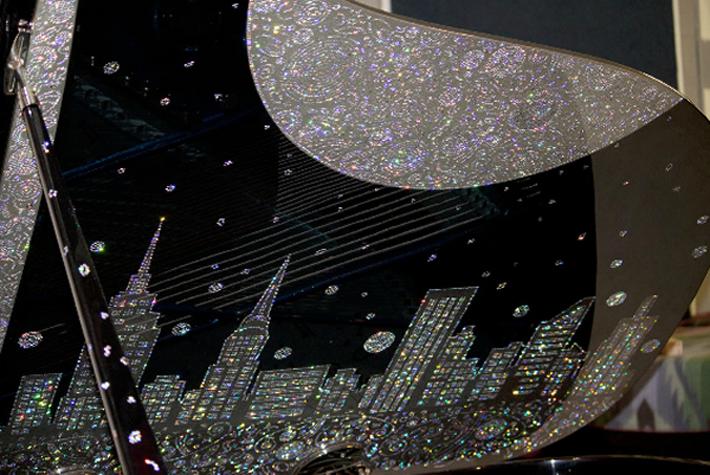 5 Million Dollar Steinway Piano Inspired by New York Million Dollar Steinway Piano Inspired by New York 52