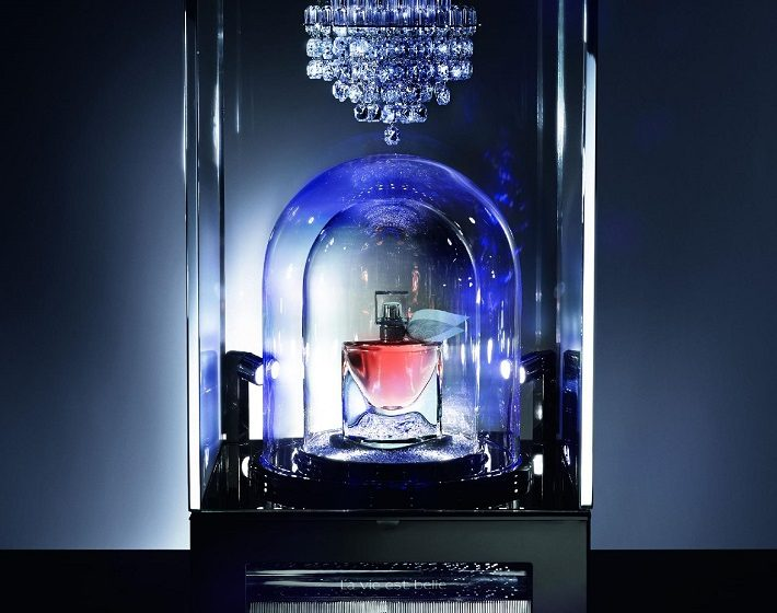"""""""luxury fragrance by Lancôme, Reuge and Baccarat"""""""