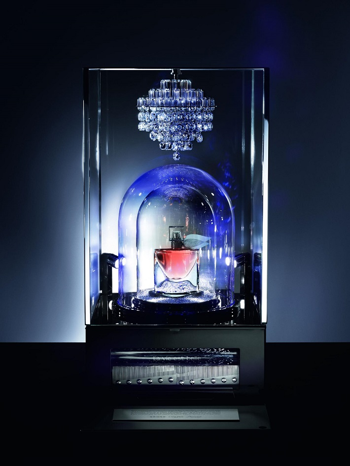 """luxury fragrance by Lancôme, Reuge and Baccarat"""