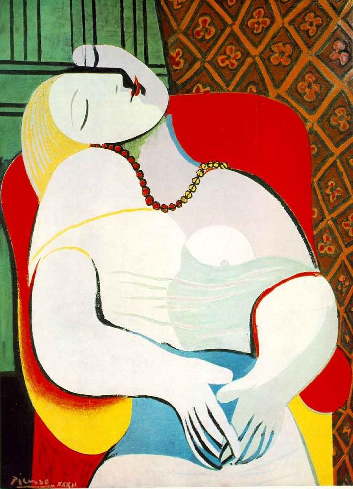Most expensive paintings: Le Rêve most expensive paintings The 10 most expensive paintings ever sold le reve pablo picasso