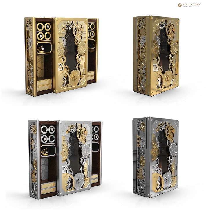Limited edition furniture: a steampunk inspired safe limited edition Limited edition furniture: a steampunk inspired safe Limited edition furniture a steampunk inspired safe