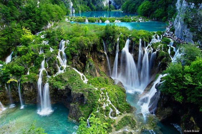Plitvice Waterfalls landscapes The most beautiful water landscapes in the world plitvicelakes