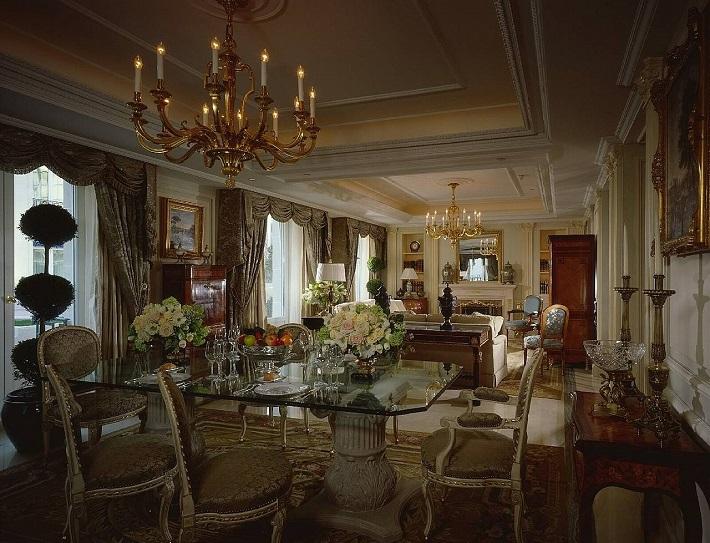Most exclusive hotel suites: Royal Suite hotel suites The most exclusive hotel suites in the world royal one bedroom four season paris