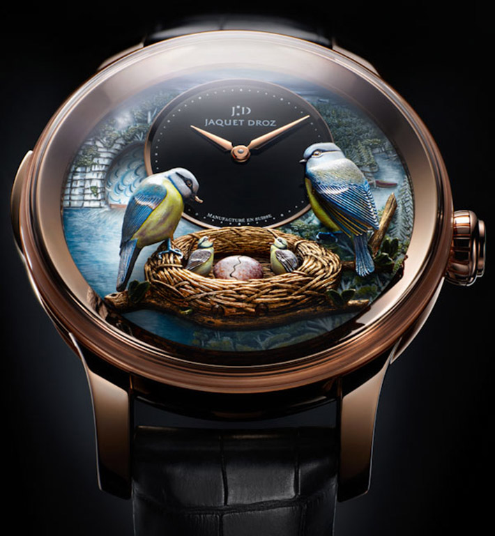 Watch Preview At BaselWorld 2014 Watch Preview At BaselWorld 2014 Watch Preview At BaselWorld 2014 Jaquet Droz The Bird Repeater Watch   Jaquet Droz The Bird Repeater Watch