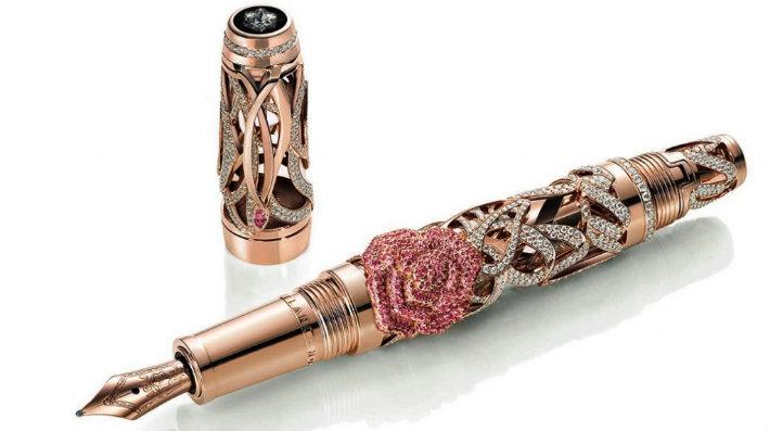 3MontBlanc_pen_diamonds Montblanc - The Muses Edition  Montblanc - The Muses Edition  3Caneta MontBlanc para Mulheres