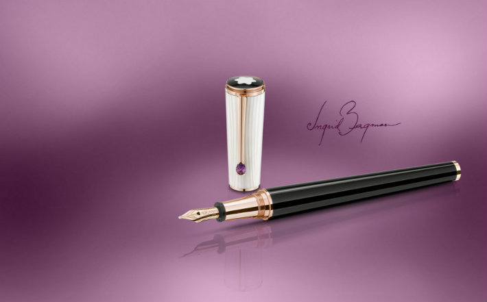 4Ingrid_Bergman Montblanc - The Muses Edition  Montblanc - The Muses Edition  4Ingrid Bergman