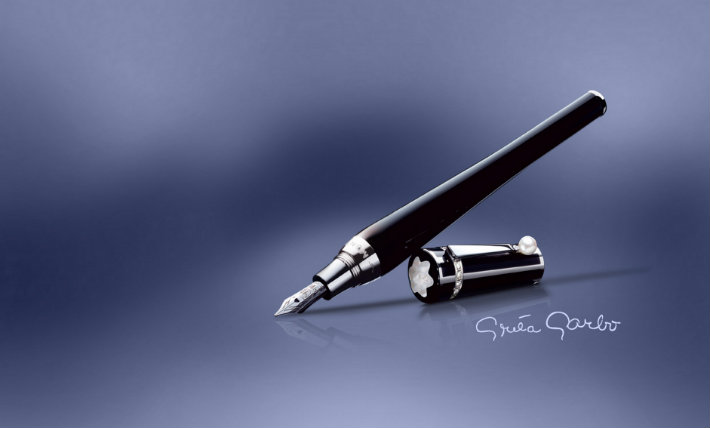 6greta_garbo_muses_edition Montblanc - The Muses Edition  Montblanc - The Muses Edition  6greta garbo muses edition