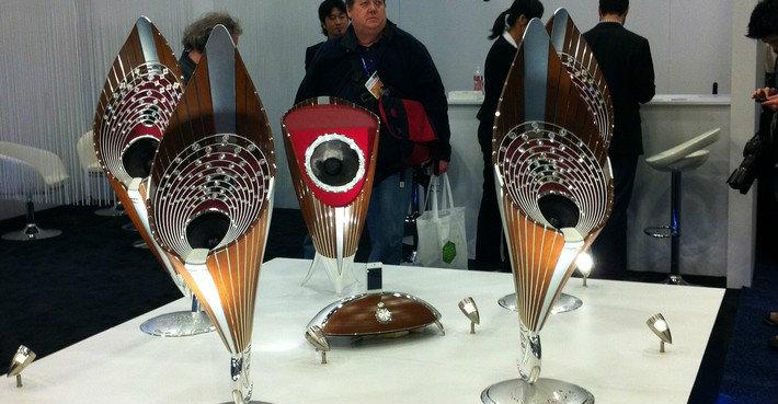 A diamond speaker, can you imagine?