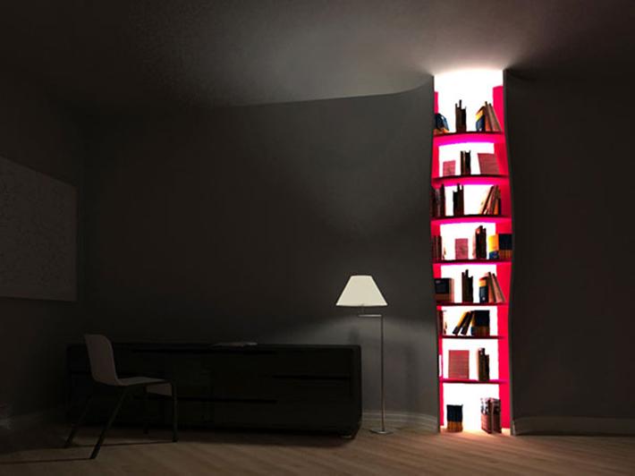 Cutshelves light 5 of the most beautiful wooden bookshelves 5 of the most beautiful wooden bookshelves Cutshelves light