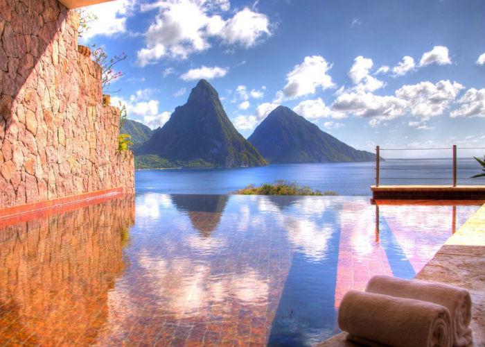 The most romantic luxury experiences - 3 The most romantic luxury experiences The most romantic luxury experiences JadeMountain SaintLucia16