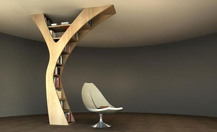 Yule Bookshelf 5 of the most beautiful wooden bookshelves 5 of the most beautiful wooden bookshelves Yule Bookshelf