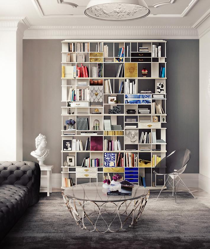 Top 10 Contemporary living room bookshelves Top 10 Contemporary living room bookshelves Top 10 Contemporary living room bookshelves coleccionista custom bookcase shelf 02