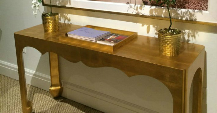 Amazing Gold Console Table