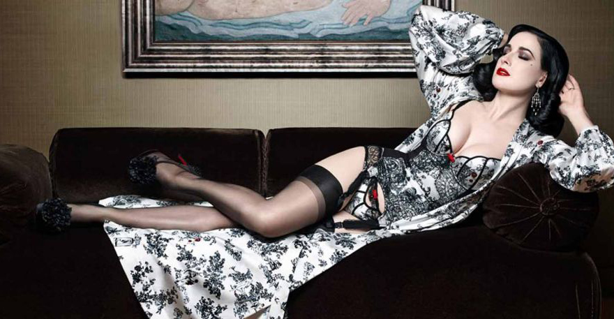 Limited Edition Lingerie by Dita Von Teese and Christian Louboutin