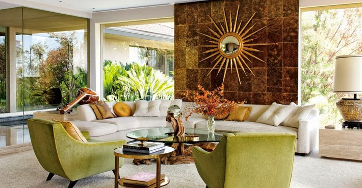 15 Ways to Decorate with Gold Mirrors 15 Ways to Decorate with Gold Mirrors 15 Ways to Decorate with Gold Mirrors featured2
