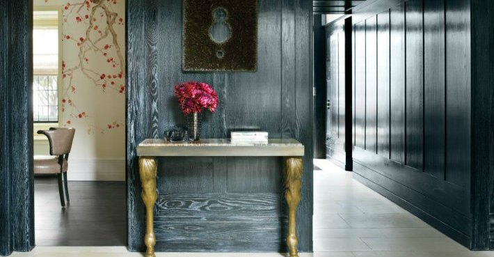 Gold Console Tables to Die for