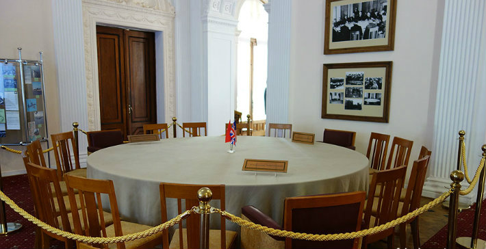 Historic Conference Tables Historic Conference Tables Historic Conference Tables yalta conference table1   yalta conference table1
