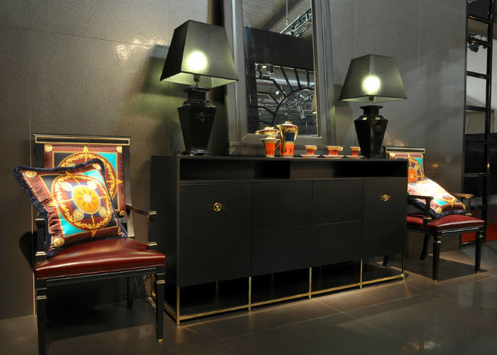 Versace Home And Minotti High End Furniture Design Limited Edition
