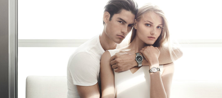The New Calvin Klein Campaign with Anna Jagodzinska and Tyson Ballou