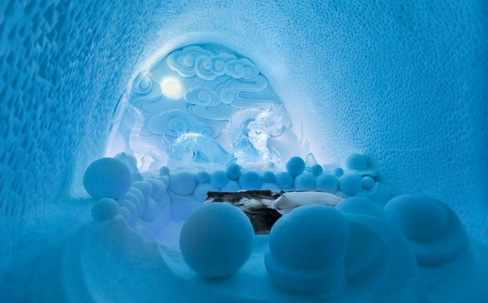 Take a look inside Sweden's Icehotel