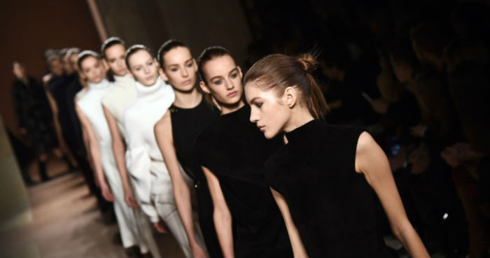 Victoria Beckham unveils sexier collection in New York