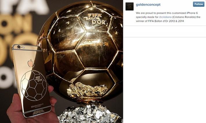Cristiano Ronaldo Gold Iphone Case cristiano ronaldo Cristiano Ronaldo's Golden iPhone Case CR