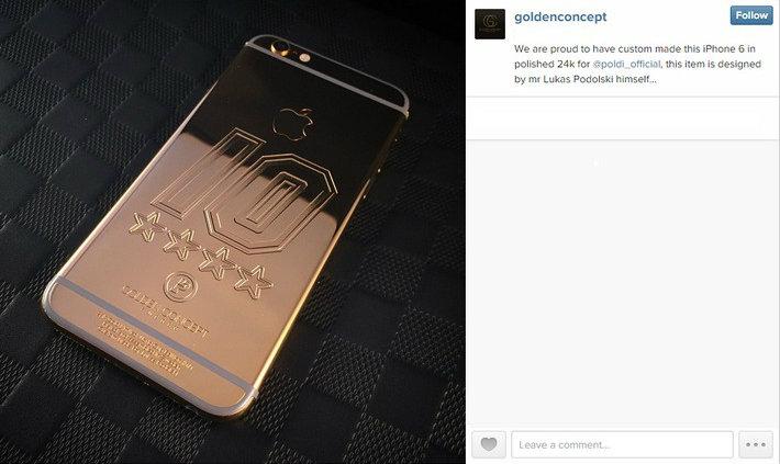 Exclusive Gold Iphone Case cristiano ronaldo Cristiano Ronaldo's Golden iPhone Case Sans titre3