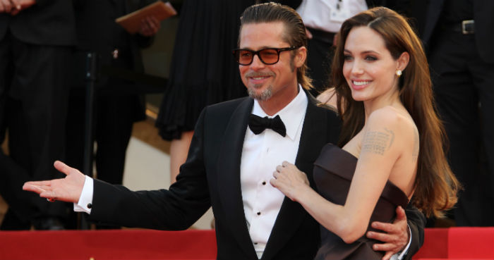 Crazy In Love: Top Celebrity Valentine's Day Gifts Crazy In Love: Top Celebrity Valentine's Day Gifts Crazy In Love: Top Celebrity Valentine's Day Gifts angelina jolie brad pitt red carpet picture