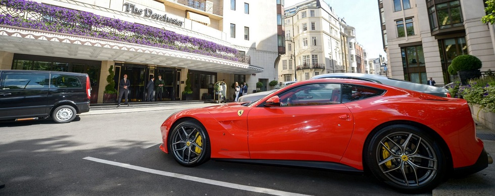 World's most expensive cars on display in west London