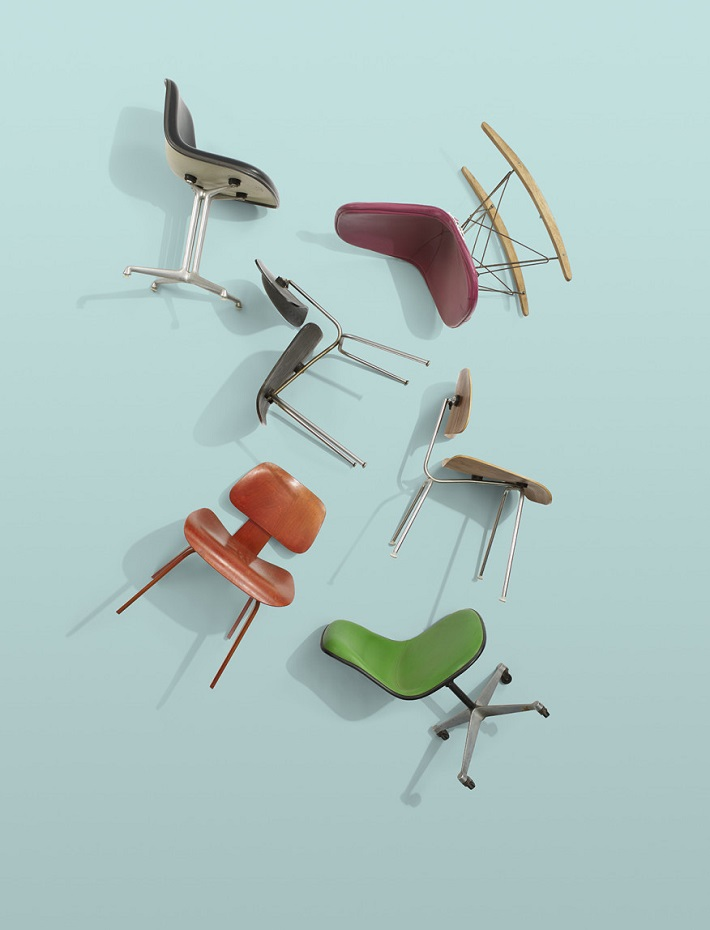 Ray Eames Rarest Design Pieces Ever in Auction