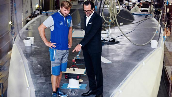 German Designer Konstantin Grcic Designs New Hugo Boss Race Yacht