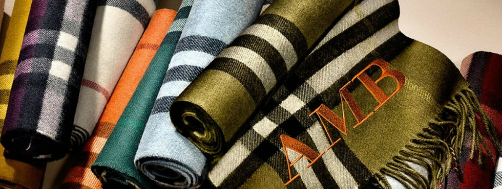 Burberry new project BURBERRY'S NEW PROJECT BURBERRY'S NEW PROJECT Burberry scarf bar Scarves Silk Cashmere 1