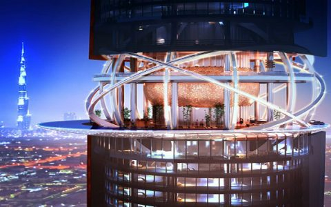 The incredible Dubai's Hotel and Residence Towers luxury