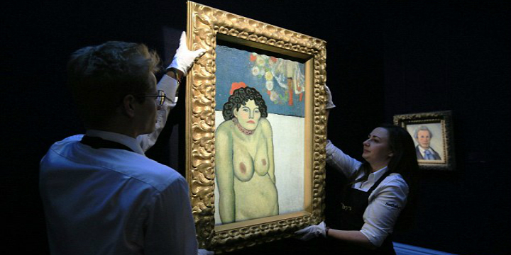 Picasso rare double-sided painting