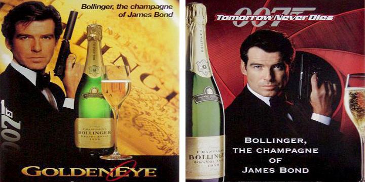 James Bond Bollinger Set.