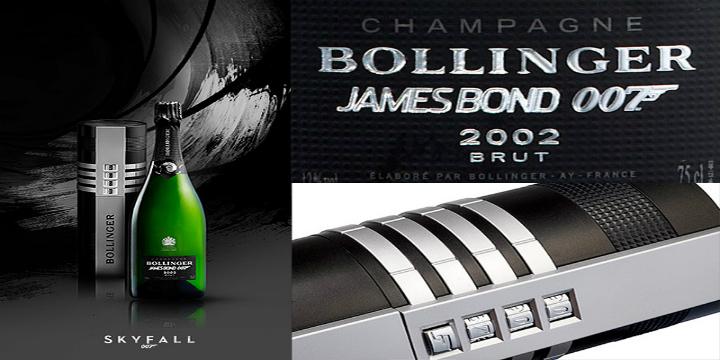 James Bond Bollinger Set