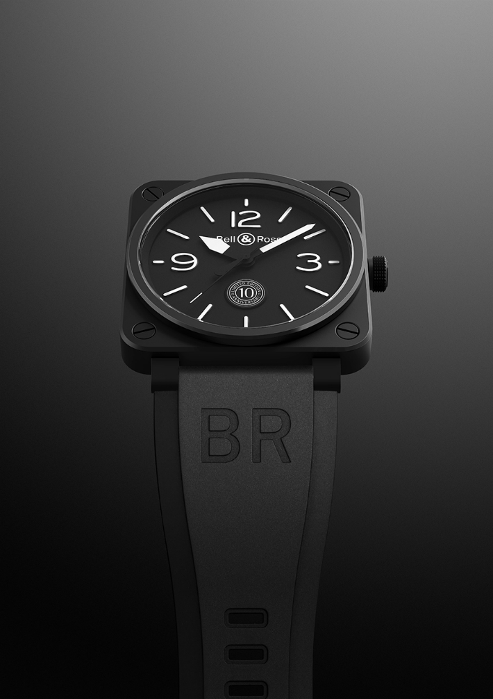 Bell & Ross bell & ross Bell & Ross Celebrates a Milestone with Limited-Edition Watches watch 10Years Fd gris