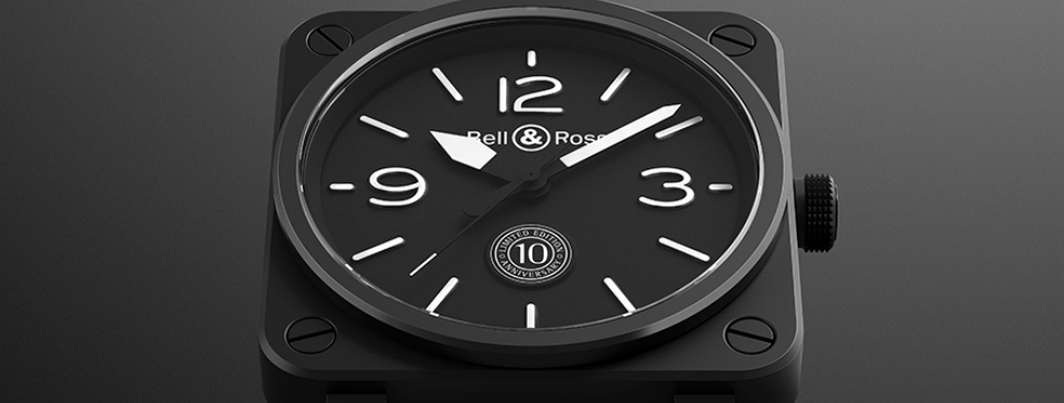 Bell & Ross Celebrates a Milestone with Limited-Edition Watches bell & ross Bell & Ross Celebrates a Milestone with Limited-Edition Watches watch 10Years Fd gris1