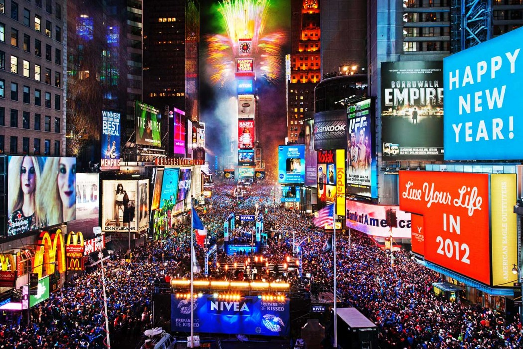 10 Best Places to Celebrate New Year's Eve places to celebrate new year's 10 Best Places to Celebrate New Year's Eve times square new years eve 2013 1050x700
