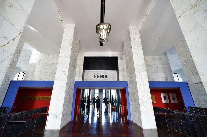 European architecture  fendi Fendi Has New Architectural Monument in Rome fendi future 7
