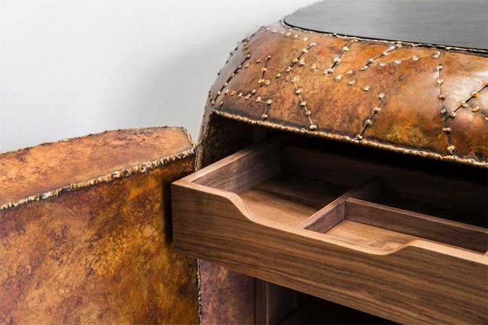Maarten Baas Carapace Sideboard Detail